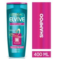Shampoo Fibralogy Elvive x 400 cc.