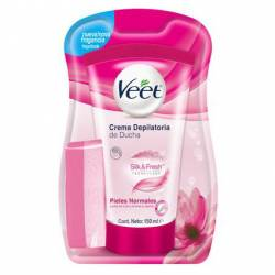 Crema Depilatoria Ducha Piel Normal Veet x 150 cc.