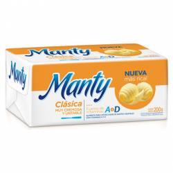 Margarina Clásica Pan Manty x 200 g.