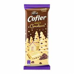 Chocolate Blanco c/Galletitas Chocolinas Cofler x 55 g.