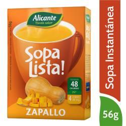 Sopa Lista Zapallo Alicante x 56 g.
