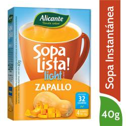 Sopa Lista Zapallo Light Alicante x 40 g.