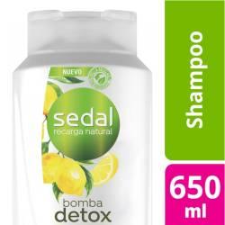 Shampoo Bomba Detox Sedal x 650 cc.
