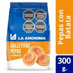 Galletitas Pepas con Batata La Anónima x 300 g.