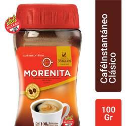 Café Instantáneo La Morenita x 100 g.
