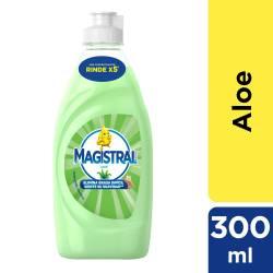 Detergente Líquido Esp Activa Aloe Magistral x 300 cc.