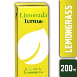 Jugo Limonada Jengibre y Lemongrass Terma x 200 cc.