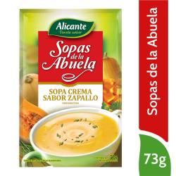 Sopa Crema de Zapallo Alicante x 73 g.