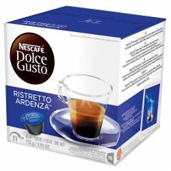 Café Tostado Capsulas Ristretto Ardenza Nescafé  Dolce Gusto x 16 un.