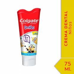 Crema Dental Infantil Minions +6 Colgate x 100 g.