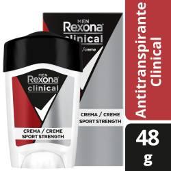 Antitranspirante Crema Clinical Sport Street Rexona x 48 g.