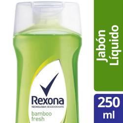 Jabón Líquido Bamboo Fresh Rexona x 250 cc.