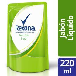 Jabón Líquido Bamboo Fresh Doy Pack Rexona x 220 cc.