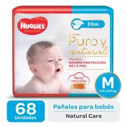 Pañal M Natural Care Mickey Oft Huggies x 68 un.