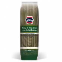 Fideos Fettuccini c/Albahaca Las Acacias x 500 g.