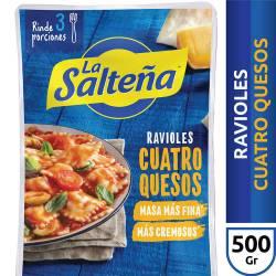 Ravioles de Quesos La Salteña x 500 g.