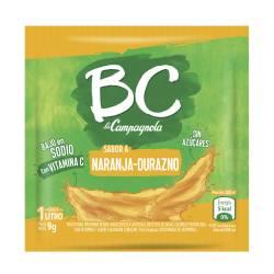 Jugo en polvo Naranja Durazno BC x 9 g.