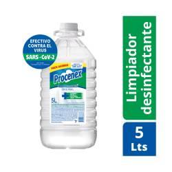 Limpiador Líquido Original 25%Mas Procenex x 5 Lt.