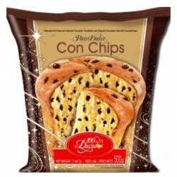 Pan Dulce con Chips de Chocolate 100 Ducados x 500 g.
