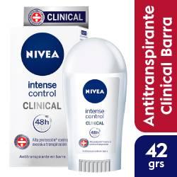 Antitranspirante Barra Clinical Nivea x 42 g.
