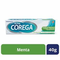 Adhesivo Prótesis Crema Menta Corega x 40 g.