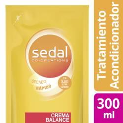 Acondicionador Sedal Crema Balance x 300 ml.