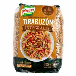 Fideos Tirabuzón Integral Knorr x 500 g.