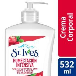 Crema Corporal Humectación Intensa. St Ives x 532 cc.