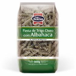 Fideos Tirabuzón c/Albahaca Las Acacias x 500 g.