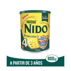 Leche en Polvo Et. 4 Prebio 3 Nido x 800 g.