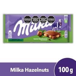 Chocolate c/Leche c/Avellanas Milka x 100 g.