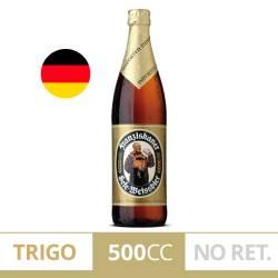 Cerveza Long Neck Trigo Franziskaner x 500 cc.