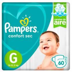 Pañal G Confort Sec Híper 7.2 Pampers x 60 un.