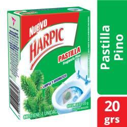 Pastilla para Inodoro Pino X20Gr Harpic x 20 g.