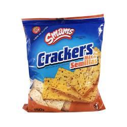 Galletitas Crackers c/Semillas Smams x 150 g.