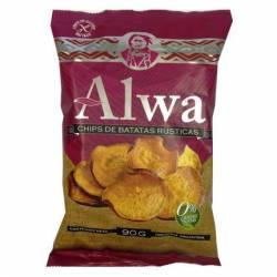 Chips de Batatas Rusticas Alwa x 90 g.