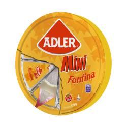 Queso Fundido Fontina Rueda Adler x 8 un. 120 g.
