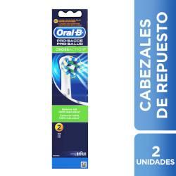 Repuesto Cepillo Eléctrico Oral-B x 2 un.