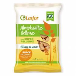Almohaditas relleno Mousse de Limón Lasfor x 21 g.