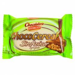 Chococereal sin Azúcar Georgalos x 25 g.