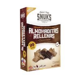 Almohaditas relleno Chocolate sin Tacc Snuks x 200 g.