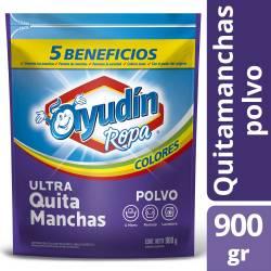 Quitamanchas Polvo Ropa Color 5 B. Ayudín x 900 g.
