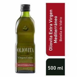 Aceite de Oliva Extra Virgen Mediterráneo V Oliovita x 500 cc.