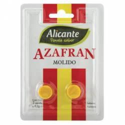 Azafrán Molido Alicante x 2 un.