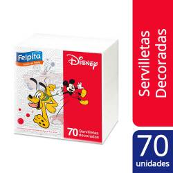 Servilletas de Papel Disney Felpita Disney x 70 un.