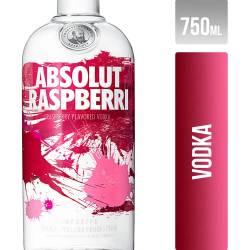Vodka Raspberry Absolut x 750 cc.