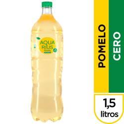 Agua s/Gas Pomelo Aquarius Cero x 1,5 Lt.