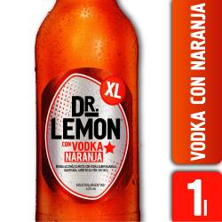 Bebida c/Vodka sabor Naranja XL Dr. Lemon x 1 Lt.