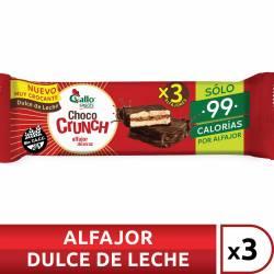Alfajor de Arroz Relleno Negro Chococrunch x 3 un. 60 g.