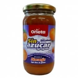 Mermelada de Naranja s/Azúcar Light Orieta x 340 g.